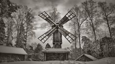 An old windmill at Seurasaari, Helsinki Finland January 2016 © COPYRIGHT The work contained in my gallery is copyrighted. My work is not stock and it may not be reproduced, copied, edited, pub...