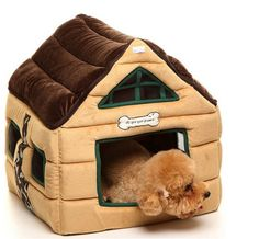 Super Nice Brown Indoor soft Dog House/pets Beds Pet Kennels Crates and Housesbrown >>> To view further for this product, go to the picture link. (This is an affiliate link). Puppy Kennel, Pet Kennels, Dog House Bed, House Beds, Cheap Dog Beds, Indoor Pets, Orthopedic Dog Bed, Cat Accessories, Pet Beds