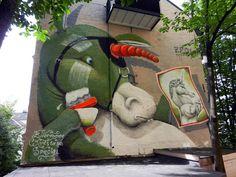 Streetart: ZED1 – New Murals In Oslo, Norway (11 Pictures) > Design und so, Illustrationen, Paintings, Streetstyle, urban art > artwork, mural, norway, piece, streetart, zed1