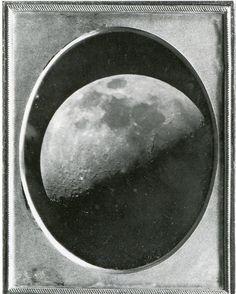 John Adams Whipple, Moon, Daguerreotype, 1851.