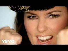 Shania Twain - Man! I Feel Like A Woman - YouTube