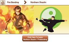 Learn Firebending Martial Arts