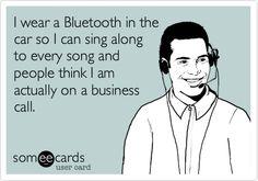 Bluetooth for life!