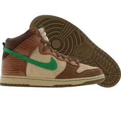 pretty nice 9eb97 21462 Nike Dunk High Premium SB Skateboard Deck Edition (tweed   classic green)
