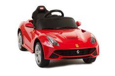 LICENSED BY FERRARI NEW MODEL RIDE ON TOY CAR WITH REMOTE CONTOL 6V Kids Red Ferrari F12 MP3 CONNECTION,KEY FOR START ZH http://www.amazon.com/dp/B00GKJIMQ4/ref=cm_sw_r_pi_dp_cimIub151V8Q3