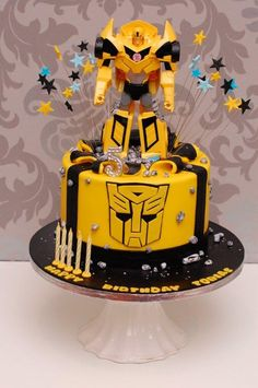 47 Most Inspiring Transformer Cake Images