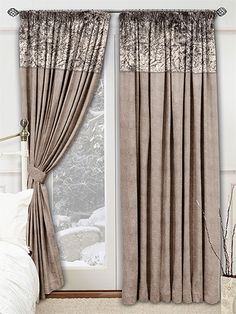Velvet Crush Stone Curtains from Curtains 2go