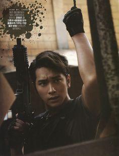 2PM's CHANSUNG – Men's Health Magazine, September 2012. Photo scan ©chansung-a.com