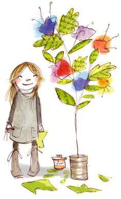 petitpoulailler: littleg: Abigail Halpin - Illustration: June 2009