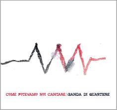 COPERTINA CD PER UN GRUPPO MUSICALE -  La BANDAdiQUARTIERE -