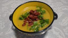 Receitas Culinárias: CALDO DE MANDIOQUINHA (ou batata baroa) COM CROCAN...