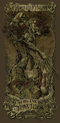 Aaron Horkey - Lord of the Rings: The Two Towers, palette change