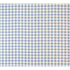 Sheetworld Gingham Check Portable Mini Fitted Crib Sheet Color: Blue
