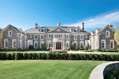 """The incomparable """"Stone Mansion"""" estate, located at 18 Frick Drive in Alpine, NJ, has been re-listed yet again."""