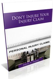 Don't Injure Your Injury Claim. Call David Now.