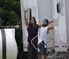 """""""Norman on the shooting Walking Dead Season 6, Walking Dead Tv Show, Walking Dead Memes, Walker Stalker, Are You Not Entertained, Dead Inside, Stuff And Thangs, Daryl Dixon, Norman Reedus"""