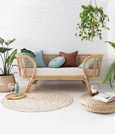 Loungers going out this week to all those who have preordered. Thank you for your patience 🙏🏻 . Shot and styled by @villastyling Cushions @squarefoxdesigns . . . #rattan #rattandaybed #sofa #2seater #zenzone #interiordesign #byronbayhangingchairs #tropicalstyle #beachhouse