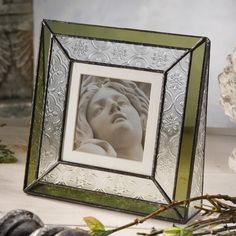 J Devlin Vintage Picture Frame | Glass Photo Frames | Square Frame