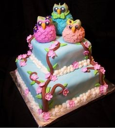These cakes are so damn cute!
