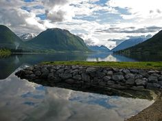 View from the waterfront in Skei. Best Western, Norway, Westerns, Mountains, Nature, Travel, Naturaleza, Viajes, Destinations