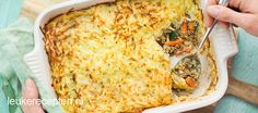 Rösti ovenschotel met gehakt - Leuke recepten