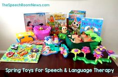 Spring Toys & Games for Speech and Language Therapy