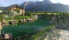 The mountains are not only a breath-taking back drop for nature lovers but produce medicinal herbs with powerful healing properties, a key component for Alpenresort Schwarz Natural Care Programme.  http://healinghotelsoftheworld.com/hotels/alpenresort-schwarz-wellness-spa-hotel-austria/