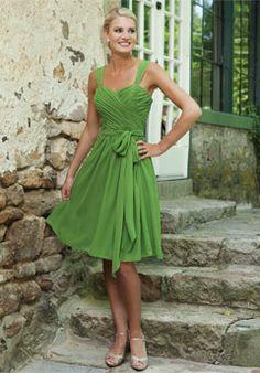 A Bridesmaid dress ideal to match my wedding theme.