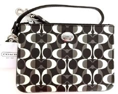 Adorable Coach wristlet.  Perfect way to accent your outfit.  Please visit BeachBonBoutique on eBay.com