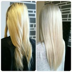 Toners can do wonders (in some cases) Blonde long hair. Check out my blog for more tips! www.hairproductandtechnique.com