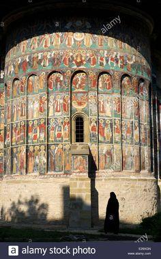 Stock Photo - Romania, Bucovina region, Sucevita monastery, listed as World Heritage by UNESCO City Breaks Europe, European City Breaks, Brasov Romania, Bucharest Romania, Visit Romania, Romania Travel, Moldova, Eastern Europe, World Traveler