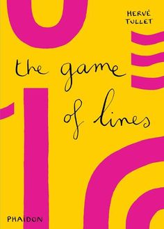 The Game of Lines by Hervé Tullet.  A brightly colored graphic game that introduces little ones to the wonderful world of lines. There are dozens of combinations to be made in this mix and match book.