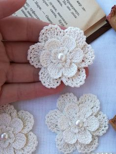 """Flor De Crochet Bordado neto suave dos tonos de Tela de encaje 54/"""" Premium Tela"""
