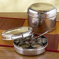 masala dabba (spice box)
