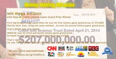 7 Time Winner , Tested Proved allover , Money Return Guarantee. How To Get Money Fast, Lottery Games, University, Community College, Colleges