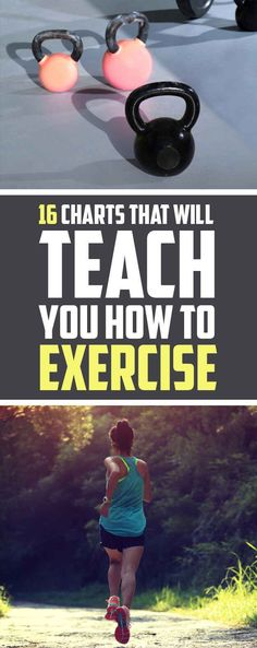 16 Super-Helpful Charts That Teach You How To Actually Work Out #fitness #weightloss