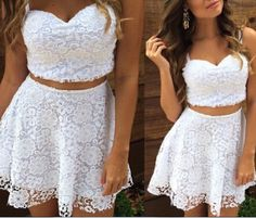 Sexy Lace White Dress #AD51011YT