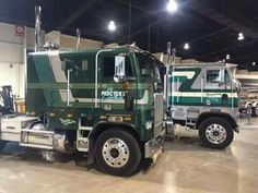 Custom Freightliner COE with a Double Size Sleeper