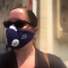 New #mask, new #selfie! Thanks to @resprouk for their continued existence; take that #asthma! # + # = one rocking look  #uaelife #catseye #sunglasses and #asthmachic #respro #allergymask with #powaelitevalves defeats #sunsandandsuffering