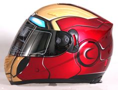 IRONMAN DOT HELMET BY MASEI HELMET. If only my bike would turn into a suit.....hmmm