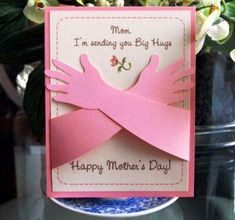 10 Unique Ideas For Mothers Day Crafts For Kids, Toddlers, Children To Make At Home | Happy Mothers Day 2015