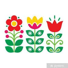 Hand Embroidery Patterns Free, Embroidery Flowers Pattern, Folk Embroidery, Flower Patterns, Flower Designs, Scandinavian Pattern, Scandinavian Folk Art, Nordic Art, Scandinavian Embroidery