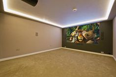Home cinema room - yes please!