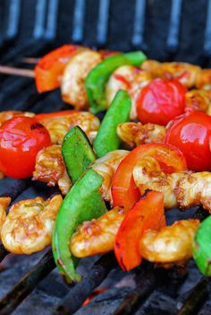 Barbecue Shrimp marinated in chilli & soy sauce