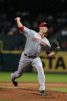 CrowdCam Hot Shot: Cincinnati Reds starting pitcher Greg Reynolds pitches during the second inning against the Houston Astros at Minute Maid Park. Photo by Troy Taormina
