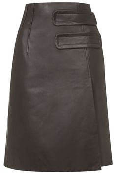 d2e52114f3 Inverness Leather Skirt by Unique - Topshop Gothic Chic