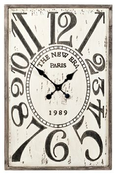 Alice Wall Clock | Clocks | Wall Decor | Products | Urban Barn