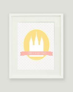 Young Womens 2013 Mutual Theme Stand Ye in Holy Places Printable  $10