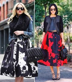 The Skirt Every Street Style It-Girl Is Wearing via @WhoWhatWear