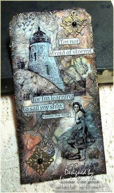 Linda Coughlin tag art